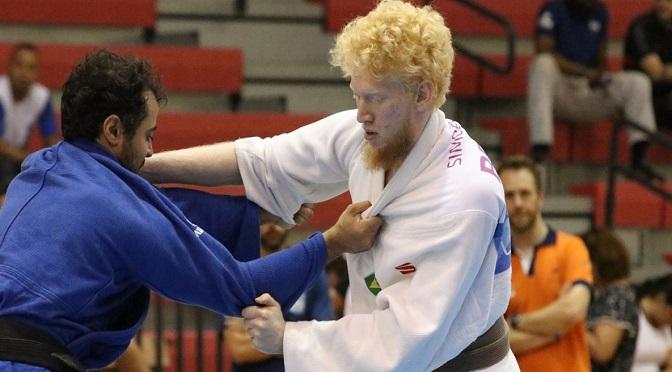 De olho nas Paralimpíadas, judoca de MS inicia ano em competição no Canadá - Crédito: Divulgação