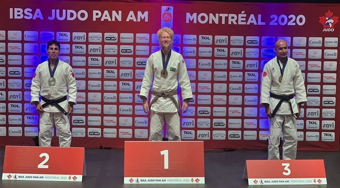 Judoca sul-mato-grossense conquista o bicampeonato do Parapan-Americano - Crédito: Divulgação/CBDV