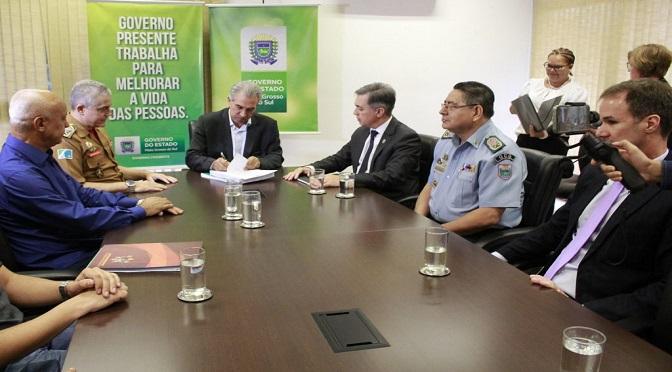 Governo de MS estende prazo de regra previdenciária para PM e Bombeiros - Crédito: Divulgação