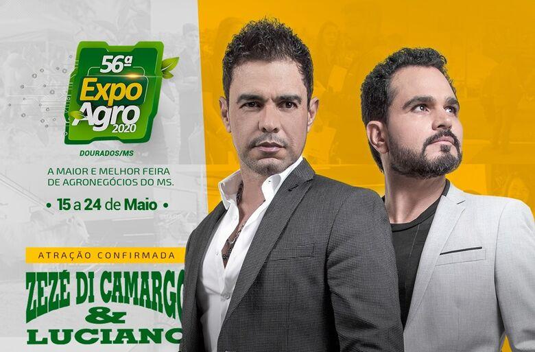 Expoagro confirma as duas primeiras atrações de 2020 - Crédito: Divulgação