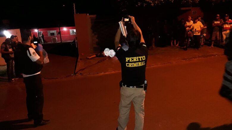 Langão foi executado com vários tiros - Crédito: Cido Costa/Dourados Agora