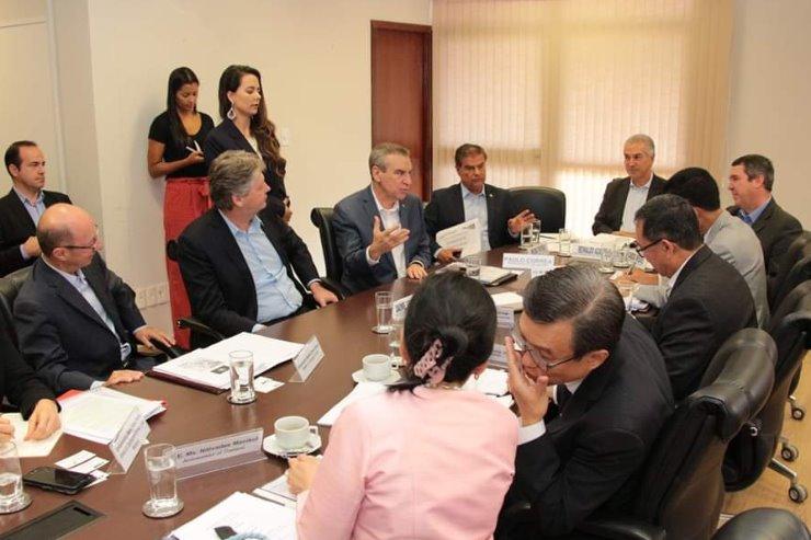 Presidente destacou as potencialidades comerciais de Mato Grosso do Sul - Crédito: Luiz Carlos Júnior