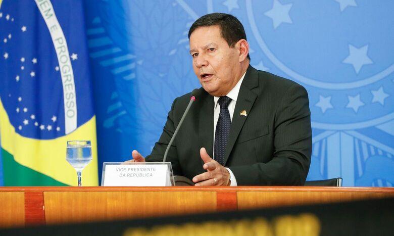 Vice-presidente Mourão - Crédito: Alan Santos/PR