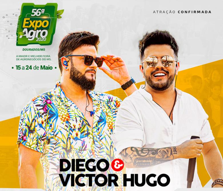 Quinta atração anunciada pela organização da Expoagro - Crédito: Divulgação