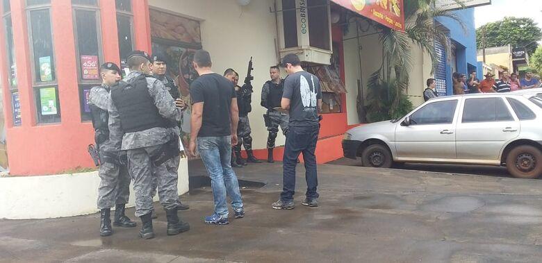 Crime ocorreu em padaria em Dourados - Crédito: Cido Costa/Dourados Agora