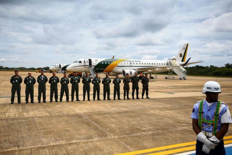 Aeronaves da FAB decolam com destino à China para buscar brasileiros - Crédito: Marcelo Camargo/Agência Brasi