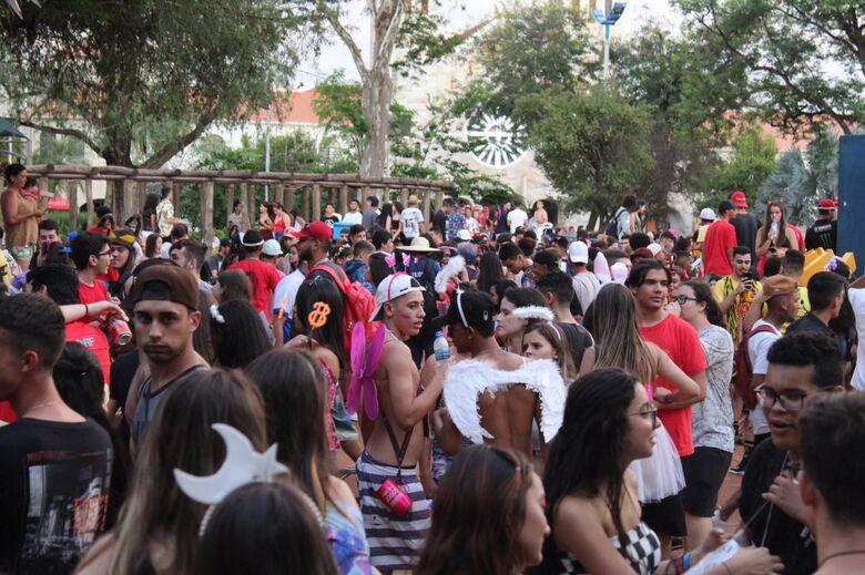 Foliões levaram o som de casa - Crédito: Vinicios Araújo