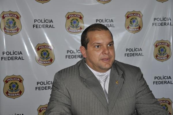 Denis Colares veio de Brasilia para prestar depoimento -