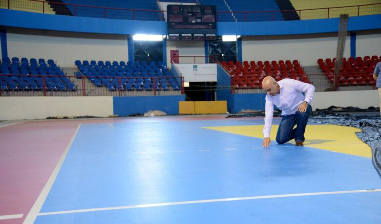 Com reforma, Guanandizão receberá etapa da Liga das Nações de Vôlei -