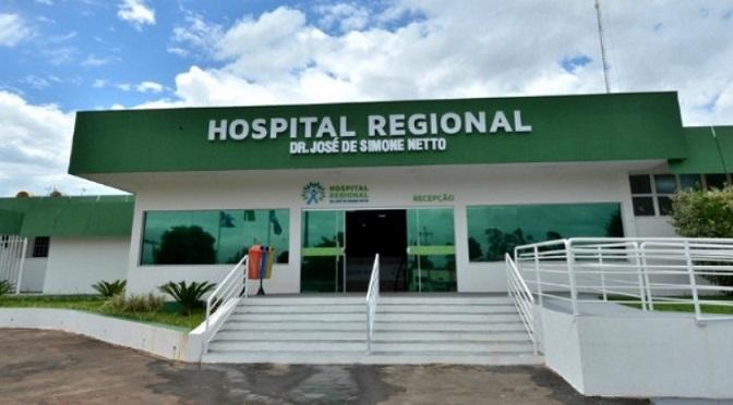 Paciente está em isolamento do Hospital Regional de Ponta Porã - Crédito: Divulgação