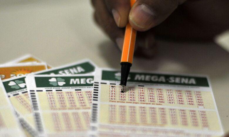 Mega-Sena sorteia nesta quarta-feira prêmio de R$ 170 milhões - Crédito: Marcelo Casal Jr./Agência Brasil
