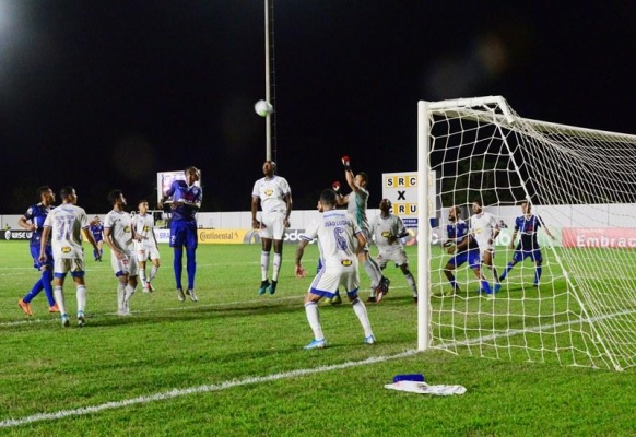 A Raposa sofreu, nesta quinta-feira (13) para segurar o empate de 2 a 2 com o São Raimundo (RR) em Boa Vista - Crédito: Divulgação