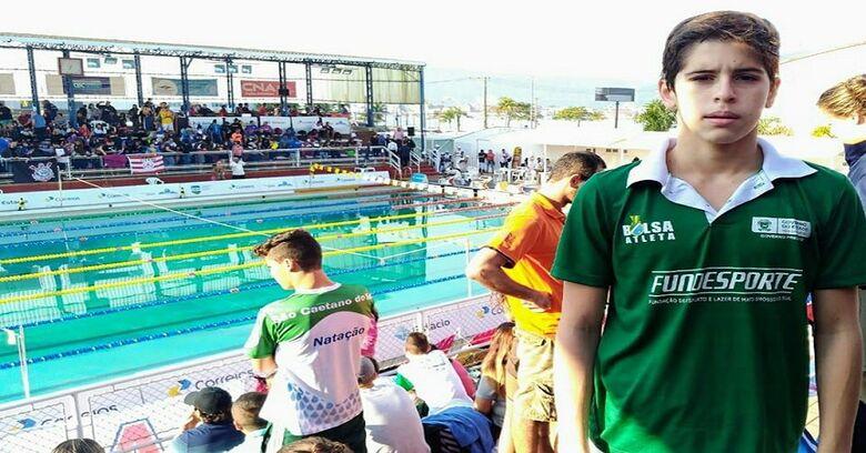 Nadador de MS disputa competição no Peru com a seleção brasileira -