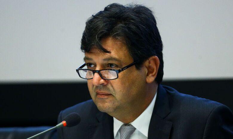 Ministro Mandetta confirmou o caso em SP - Crédito: Marcelo Camargo/Agência Brasil