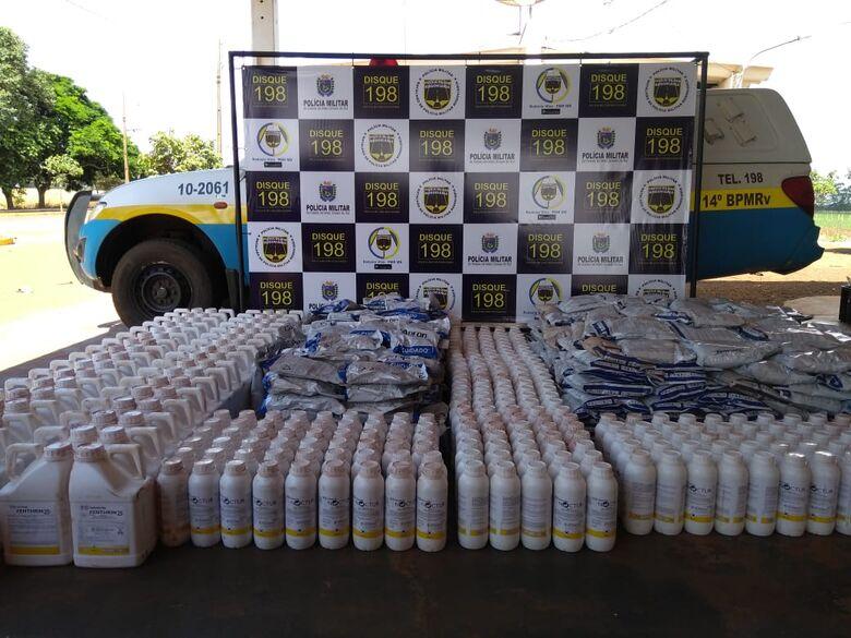 O homem disse que receberia R$ 500 pelo transporte da carga - Crédito: Divulgação
