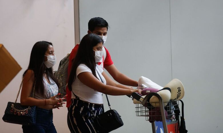 Governo restringe entrada de estrangeiros por voos internacionais - Crédito: Fernando Frazão/Agência Brasil