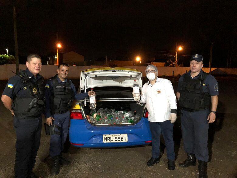 Eduardo Meneses entrega álcool 70% a Guarda Municipal -