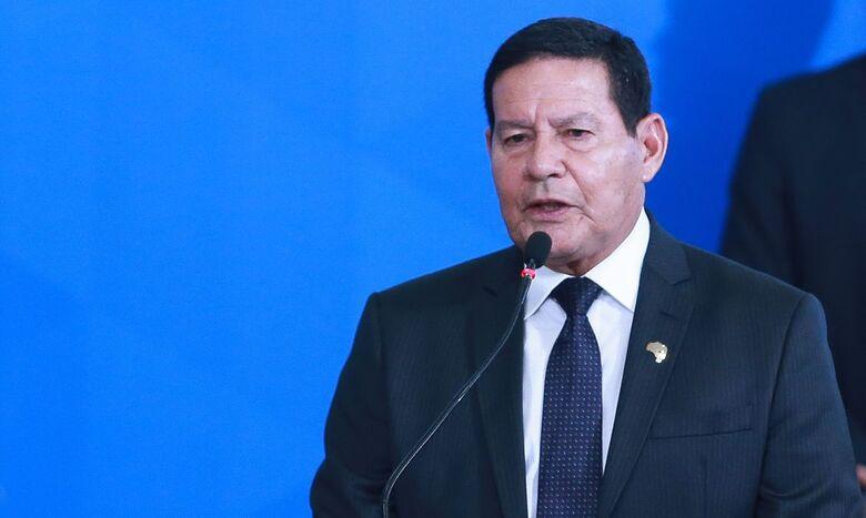 Vice-presidente participa da primeira reunião do Conselho da Amazônia - Crédito: Valter Campanato/Agência Brasil