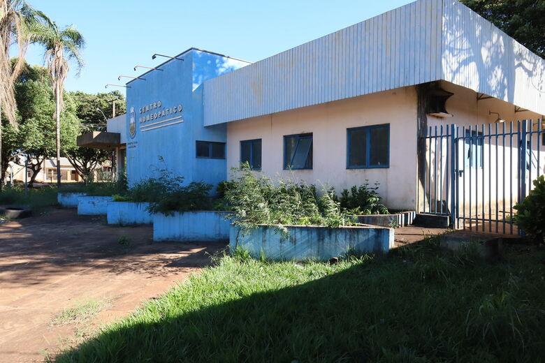 Após quase 4 anos fechado, Centro Homeopático terá obras de reforma iniciadas -