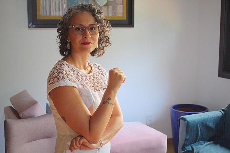 Vanessa Figueiredo, psicanalista. - Crédito: Divulgação
