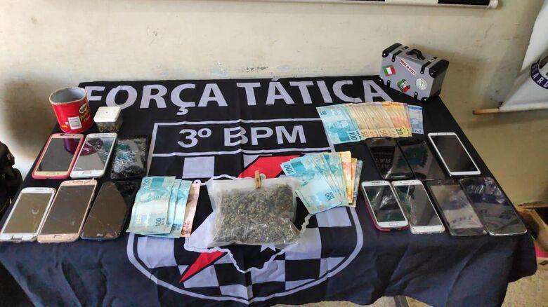 Sócios de lava-rapido são presos por tráfico de drogas na Vila Industrial - Crédito: Divulgação
