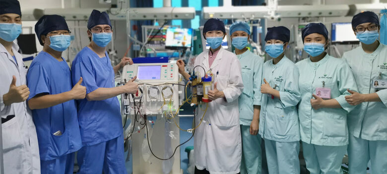 OMS pede mais equipamentos e suprimentos médicos para enfrentar coronavírus - Crédito: Departamento de Cuidado Crítico, Universidade Médica de Guagdong