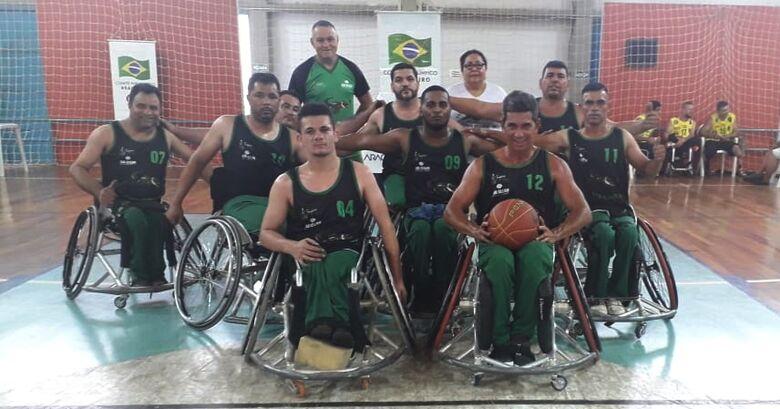 Pantanal Sobre Rodas representa MS em torneio de basquete no interior paulista - Crédito: Divulgação