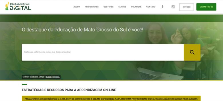 Plataforma de aula online -