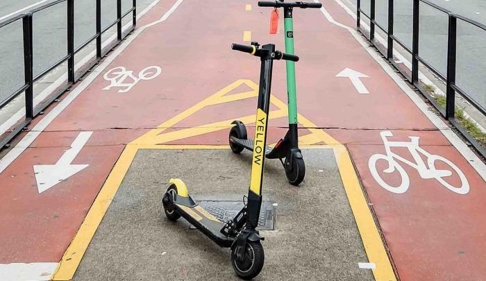 Relatório aponta que microveículos são mais seguros para os pedestres - Crédito: EBC