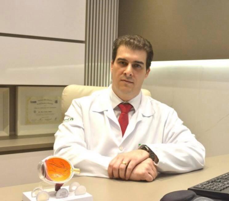 Guilhermo Bonini é presidente da Associação Médica da Grande Dourados -