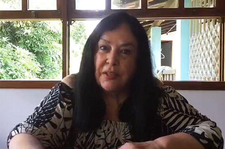 Rose de Freitas defende isolamento social e suporte imediato para os mais pobres - Crédito: Reprodução TV Senado