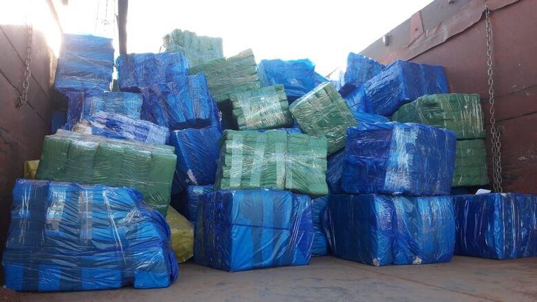 Traficante é preso transportando mais de 4 toneladas de maconha - Crédito: Cido Costa