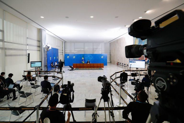 Projetos aumentam punição para agressões contra jornalistas - Crédito: Alan Santos/Presidência da República