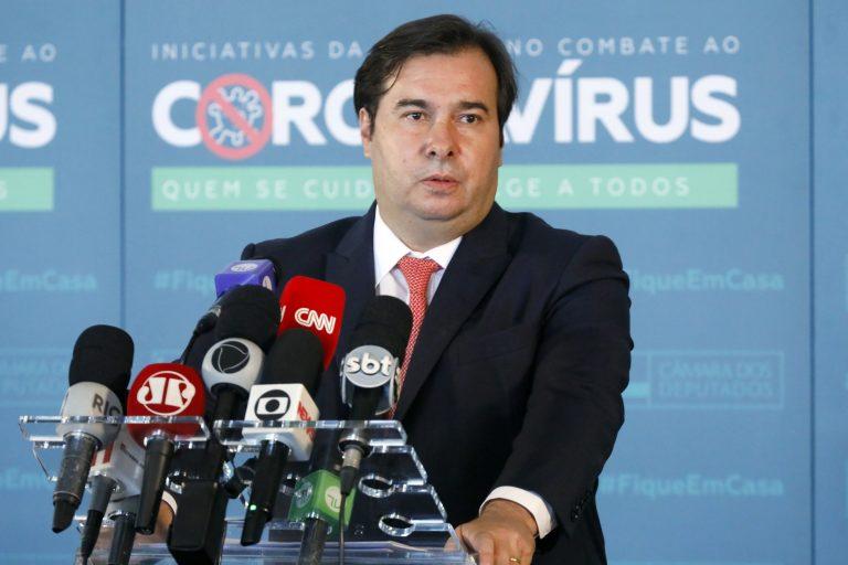 Maia defende retomada do caminho do diálogo e do respeito institucional - Crédito: Najara Araujo/Câmara dos Deputados