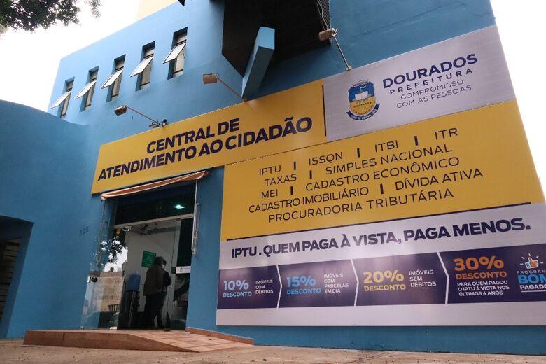 Central de Atendimento ao Cidadão já atende em novo endereço - Crédito: A. Frota