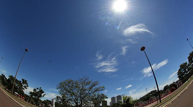 Terça-feira terá predomínio de sol e clima seco em MS -