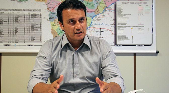 Marcos Derzi, novo diretor-presidente da Funtrab - Crédito: Chico Ribeiro