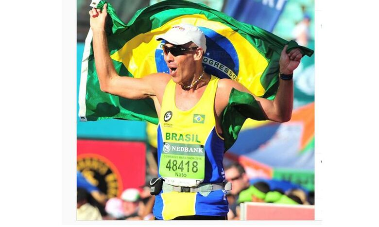Brasileiros dão show de solidariedade em ultramaratona virtual - Crédito: Arquivo Pessoal/Nato Amaral