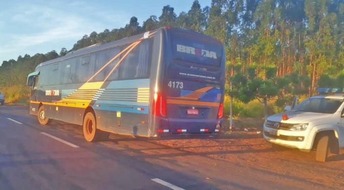 Agepan aborda mais de 120 veículos em fiscalização contra o transporte clandestino -