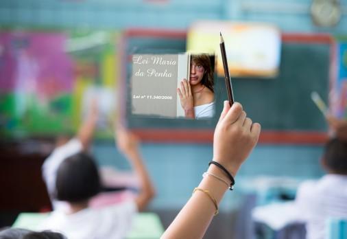 Crianças aprenderão sobre a Lei Maria da Penha nas Escolas -