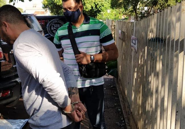 Autor da morte de secretário é encaminhado para penitenciária - Crédito: Cido Costa