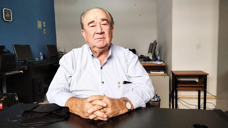 Valdenir Machado está internado com Covid-19 - Crédito: Flávio Verão