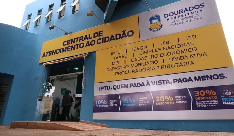 Dourados lança programa de conciliação de dívidas -