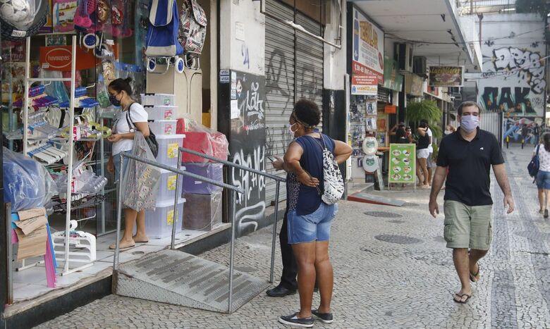 IBGE: 62,4% das empresas foram afetadas negativamente pela pandemia - Crédito: Fernando Frazão/Agência Brasil