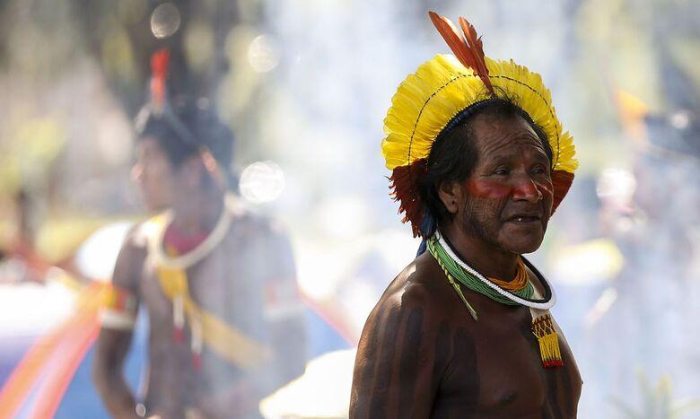 Operação conjunta de saúde realiza testagem em comunidades Yanomami - Crédito: Marcelo Camargo/Agência Brasil