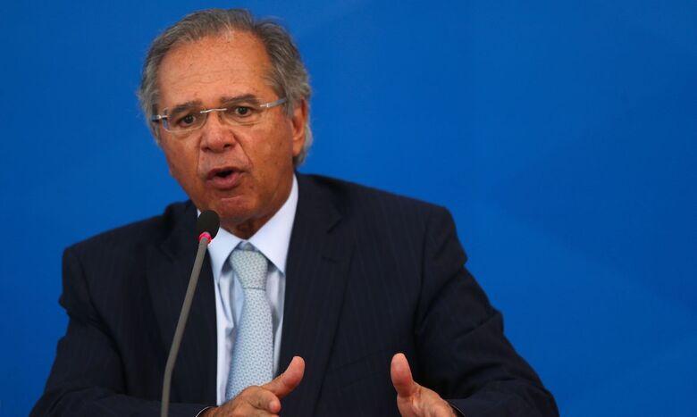 Paulo Guedes testa negativo para covid-19, informa ministério - Crédito: Marcello Casal Jr./Agência Brasil