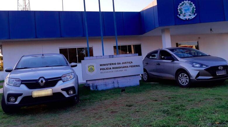 Em menos de 24h, PRF recupera três veículos em Corumbá - Crédito: Agência PRF