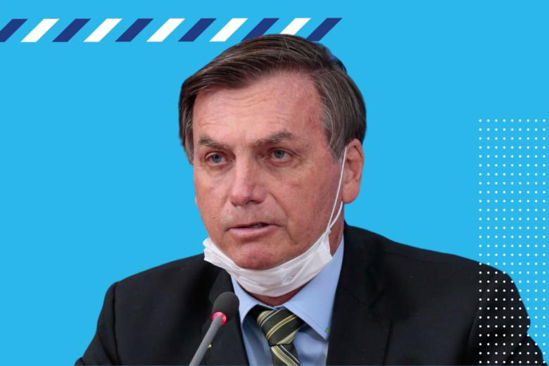 Montagem com Presidente Jair Bolsonaro -