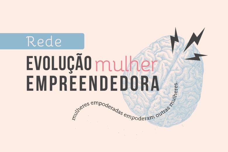 Logo Rede Evolução Mulher Empreendedora - Crédito: divulgação