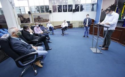 Câmara promulga lei que regulamenta bairros de acesso controlado em Dourados - Crédito: Assessoria